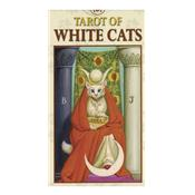 Mini Tarot des Chats Blancs - Tarot of White Cats