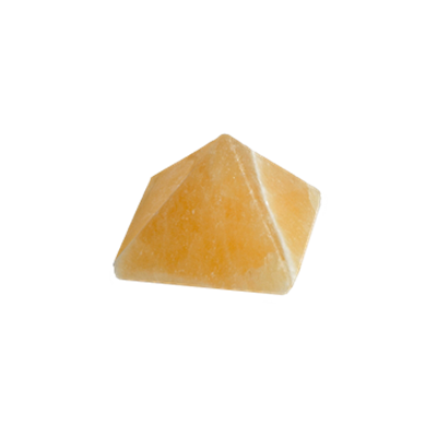 Pyramide Calcite Orange