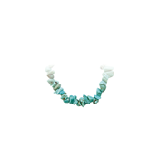 Bacelet Baroque Howlite turquoise